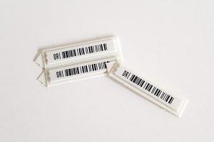 etiqueta antihurto insertable cosmetica